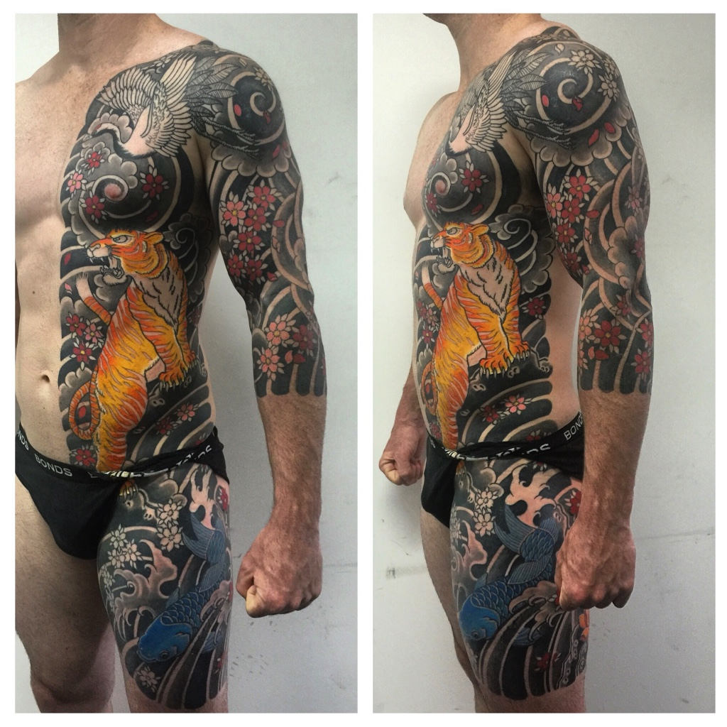 Japanese body suit by deepak munsami the tattoo movement for Japanese body tattoo